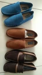 sapato mocassin, sandalo/mr.cat