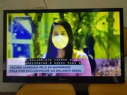TV de 40 polegadas Sony com tela amarelada