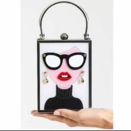 Bolsas Retro, Óculos Lips ,Bonito Dos Desenhos Animados 3D