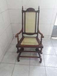 Título do anúncio: Cadeira de balanço de palhinha