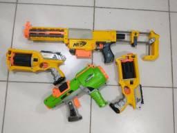 Kit Nerfs - Arma de Brinquedo