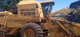 Vendo TC59 NEW HOLLAND- POSSIBILIDADE DE PARCELAMENTO