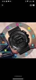 Honhx Relógio De Pulso Digital / Led / Digital / De Luxo / Data / Esportivo / Masculino