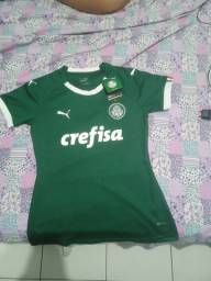 Camisa do Palmeiras feminina
