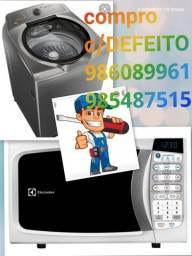 Título do anúncio: Máquina de lavar microondas fritadeira