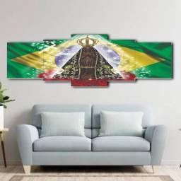 Quadro Decorativo Em Mosaico Nossa Senhora Aparecida