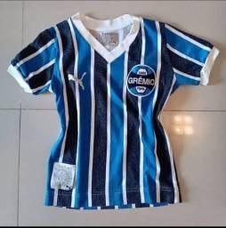 Gremio Camisa Feminina Estilo Retrô