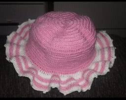 Chapéu de crochê