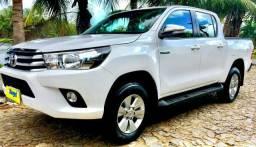 Toyota Hilux SRV 17/17 com 49.500km Pneus novos!!! - 2017