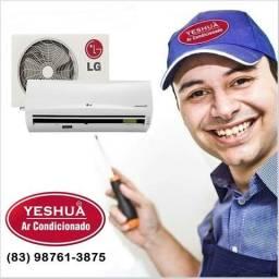 Instalação, Limpeza e Manutenção Ar Condicionado Profissional