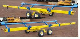 Carreto Transportador Plataforma Colheitadeira