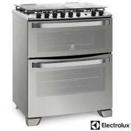 Fogão duplo forno Eletrolux