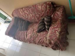 Sofa 2 e 3 lugares chocolate