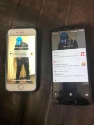 IPhone 6s e moto G6 plus