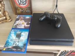 PS4 1tb, controle + 3 jogos LER BEM O ANÚNCIO!!
