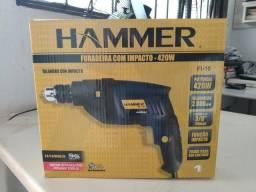 Furadeira e impacto Hammer  Aceita cartões  Entregamos