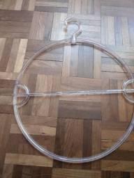 Jogo com 12 Cabides Circulares em Acrílico Novos