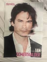 Poster (Revista Atrevida) - Ian Somerhalder/Niina e Taci