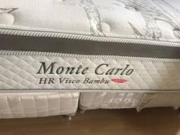 Colchão Queen Size Monte Carlo Visco Bambu