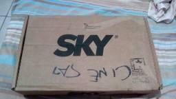 Receptor Sky Na Caixa