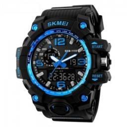 Relógio Masculino Skmei 1155 Estilo G Shock A Prova de Agua