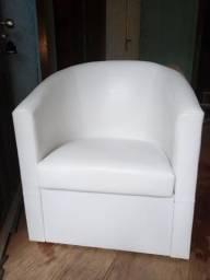 Poltrona branca