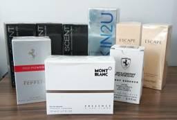 Lote de perfumes importados