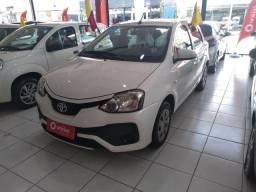 Toyota Etios 1.3x 18 Financiamento total. IPVA2019+ Transferência grátis!!!! - 2018