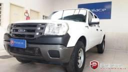Ford Ranger XLS 2.3 16V 145CV 4x2 CD Gasolina Branca 2009/2010 - 2010