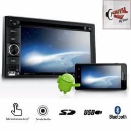 Central Multimídia, Espelhamento Android! 549,99 À Vista ou 12x 55,00 Instalado Canal Som