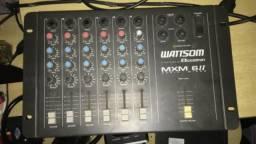 Mesa de som watsson 6 canais