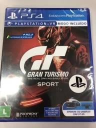 Gt Sport ps4 lacrado novo
