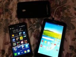 Zenfone 6 + tablet samsung