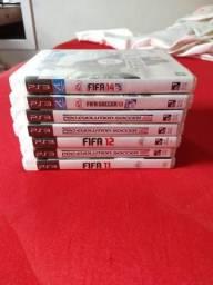 7 Jogos de Playstation 3 por apenas 50 reais