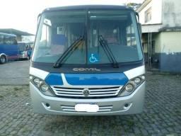 Micro ônibus Comil Piá rodoviário 25 lugares VW 9160 ano 2013