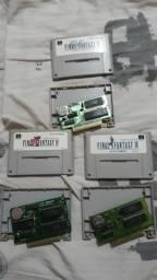 Cartuchos para Super Nintendo originais