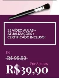 Promoção curso de maquiagem on-line