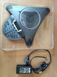 Telefone Polycom Soundstation Ip6000 Para Audio Conferência