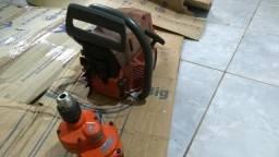 Motosserra husquivarna 268 com saibro e corrente e furadeira comprar usado  Porto Velho