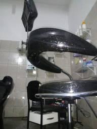 Cadeira de cabeleireiro + espelho