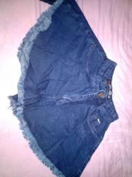 Lote de roupas jeans