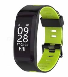 Smart Band No1 F4 Cardiaco Ip68 Esportes Bluetooth Fitness