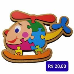 Brinquedos Educativos em madeira mdf