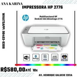 IMPRESSORA HP 2776 NOVINHA!!!