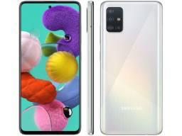 Novíssimo  Smartphone Samsung Galaxy A51 128GB Branco 4G
