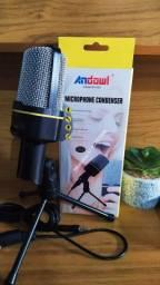 Microfone condensador qy-930