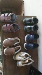 Vendo esses sapatos tudo semi novo