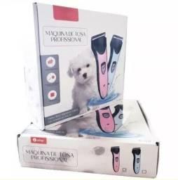 Maquina De Tosa Profissional Cães Pet Corta Pêlos Bivolt