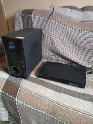Home Theater Philco PHT800BD 5.1 Canais c/ Blu-Ray Player e Entrada USB - 500 W<br><br>