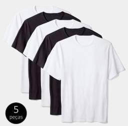 Camisas Básicas 100% Algodão